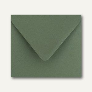 Farbige Briefumschläge 125 x 140 mm nassklebend ohne Fenster dunkelgrün 500St.