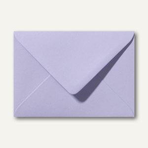 Farbige Briefumschläge 130 x 180 mm nassklebend ohne Fenster lavendel 500St.