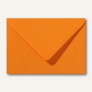 Farbige Briefumschläge 130 x 180 mm nassklebend ohne Fenster grellorange 500St.