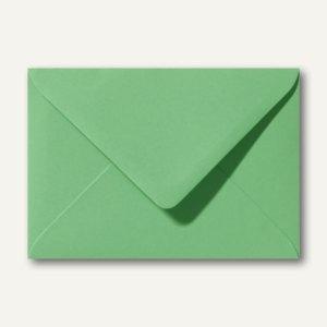 Farbige Briefumschläge 130 x 180 mm nassklebend ohne Fenster wiesengrün 500St.