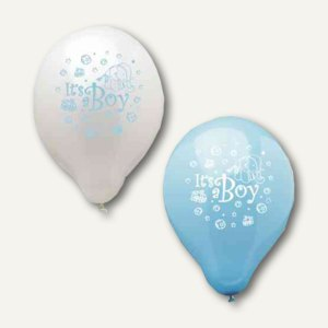 Luftballons Its a Boy