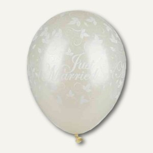 "Luftballons ""Just Married"","