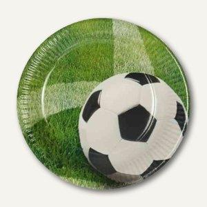 Pappteller Football