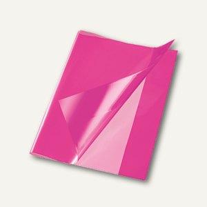 Bene Heftschoner, DIN A4, extra starke Folie, transluzent, pink, 270400 pink