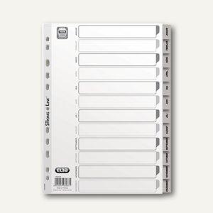 Kunststoff-Register Jan-Dez DIN A4