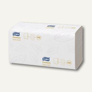 Tork Papierhandtücher Extra Soft, Interfold, 2-lagig, weiß, 2.100 Stück, 100297