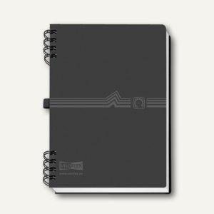 Veloflex; #Telefonbuch# 5105180 Telefonringbuch A5 schwarz