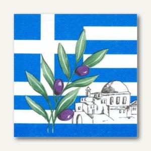 Dekorservietten Greece
