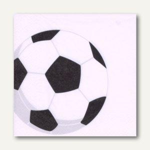 Motivservietten Soccer
