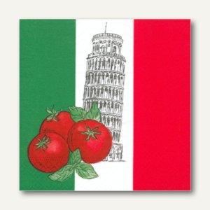 Motivservietten Italy