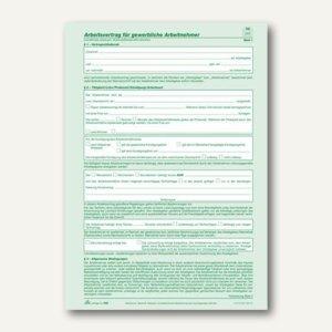 Rnk Anstellungsvertrag Gewerbliche Arbeitnehmer Din A4 542
