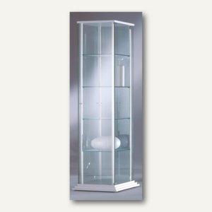 Ganzglasvitrine FORUM 3 - 176x51x51 cm