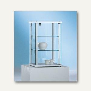 Ganzglasvitrine / Aufsatzvitrine FORUM 4 - 70x43x43 cm