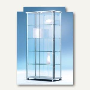 Ganzglasvitrine FORUM 5 - 172 x 83 x 43 cm