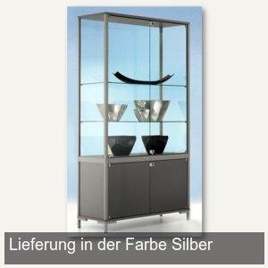 Staufachvitrine LINK/Staufach - 100 x 186 x 40 cm