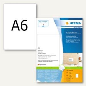 Adressetiketten Premium - 105 x 148 mm