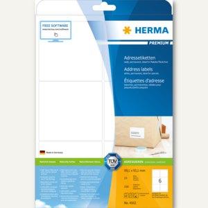 Adressetiketten PREMIUM - 99.1 x 93.1 mm