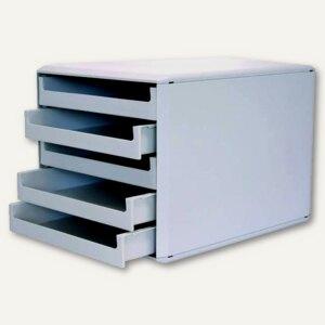 Schubladenbox mit 5 offenen Schüben