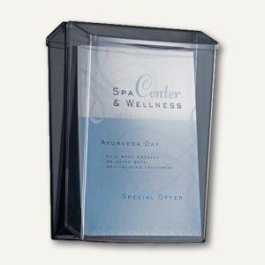 Outdoor-Prospekthalter für DIN A4 glasklar