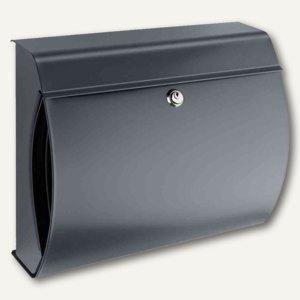 Burg-Wächter Briefkasten Verona, Stahl, 404x150x354mm, anthrazit, VERONA 844 ANT