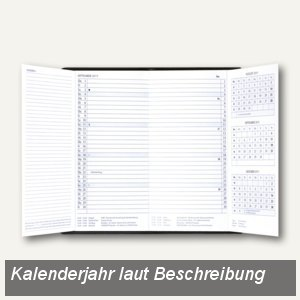 Güss Taschenkalender Trio-Timer (2015), 1 Monat/2 Seiten, 95x160mm, PVC, 58420