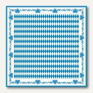 Mitteldecke Bayrisch Blau