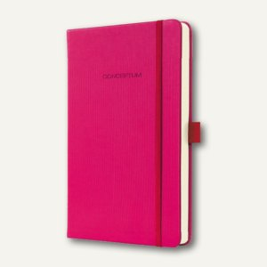 Notizbuch CONCEPTUM, 135x203 mm (ca.A5), kariert, Hardcover, pink, CO563