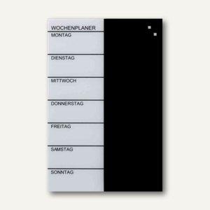 Glas-Magnetplaner / Wochenplaner
