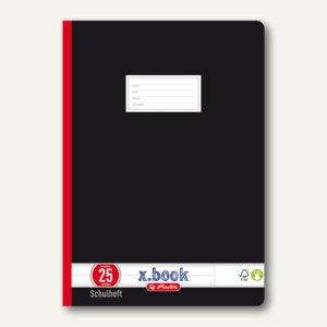 Oberschulheft x.book DIN A4