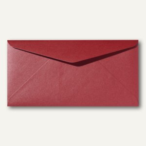 Farbiger Briefumschlag Metallic DL