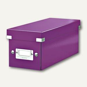 CD-Ablagebox Click & Store WOW, violett, 6041-00-62