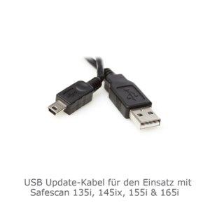 USB-Kabel für Geldprüfgeräte 135i / 135ix / 145i / 155i / 165i