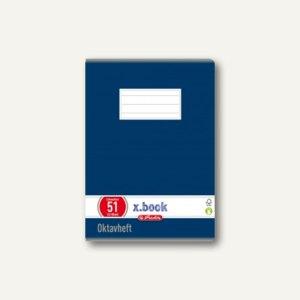 Oktavheft x.book DIN A6