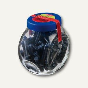 Standard-Tintenpatronen im Glas blau