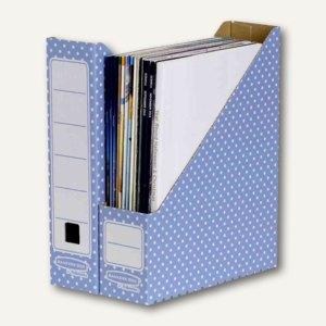 BANKERS BOX Karton-Stehsammler A4