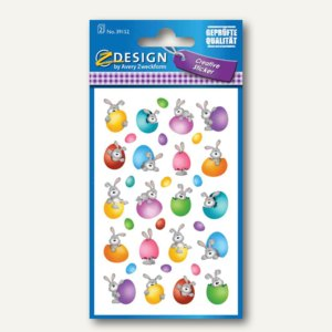 ZDesign Oster-Sticker Hasen im Ei