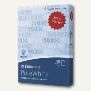 Recycling-Kopierpapier Pure White ISO 90