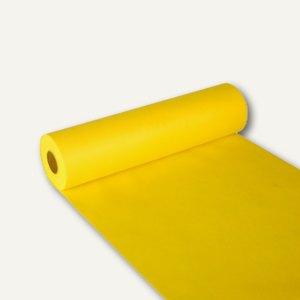 """Papstar Tischläufer """"soft selection"""", Vlies, 24m x 40cm, gelb, 4 Stück, 84324"""