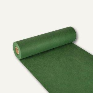"""Tischläufer """"soft selection"""", Vlies, 24m x 40cm, dunkelgrün, 4 Stück, 84319"""
