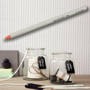 Avery Zweckform Kreidestift, 7 x 175 mm, klebstofffrei, weiß, 10 Stück, 62041