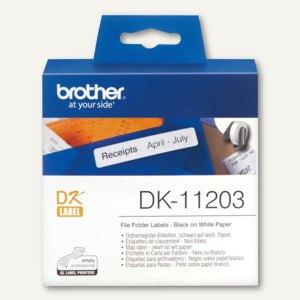 Ordnerregister-Etiketten - 17 x 87 mm