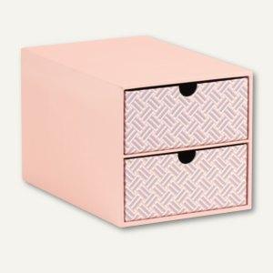 Twist - Apricot 2er Schubladenbox für DIN A5
