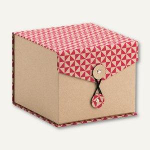 r ssler box mit klappdeckel triangle magenta 146x146x120mm 3 st ck 14501179000. Black Bedroom Furniture Sets. Home Design Ideas