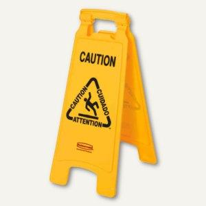 Warnschild Caution Wet Floor