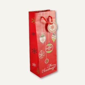 Flaschen-Lacktragetasche Christmas