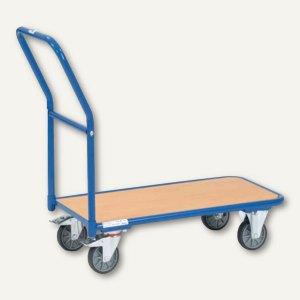 Magazinwagen - 1.250x600 mm, Tragkraft: 250 kg, blau, 1202