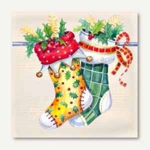 Servietten Two Stockings