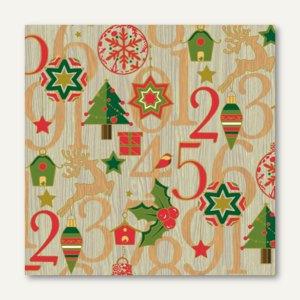 Servietten Christmas Countdown