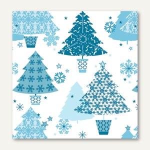 Servietten Frosty Trees
