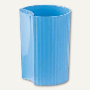 HAN Stifteköcher LOOP Trend Colour - 73x73x100 mm, Kunststoff, hellblau,17220-54